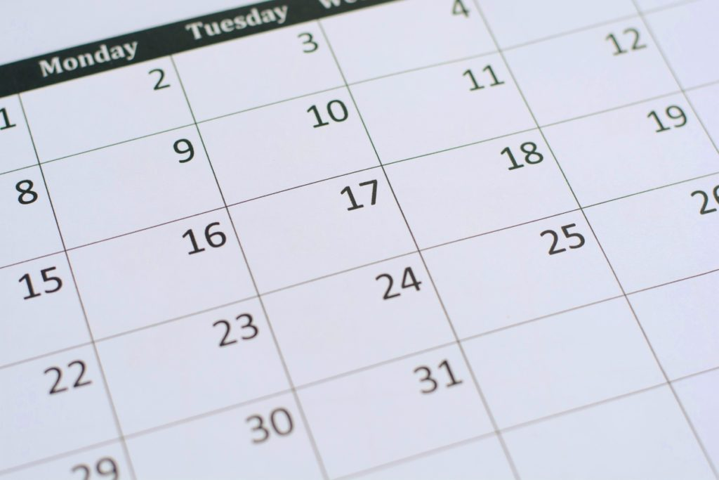 Focus Telecommunications offers appointment scheduling services - image of calendar